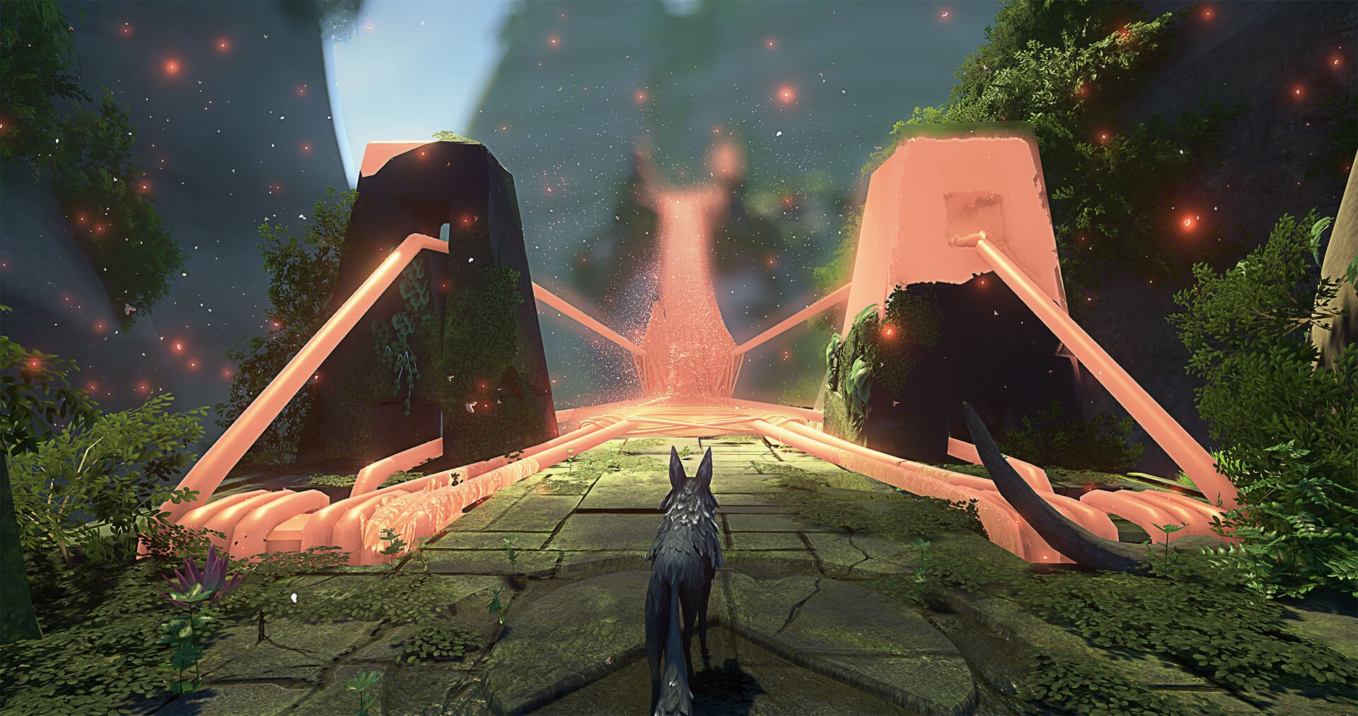 Lost Ember - An animal exploration adventure game for PC